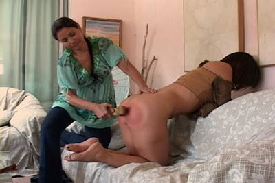 Spanking, Sinn Sage and Chelsea Pfeiffer, erotic girl spanks girl spanking
