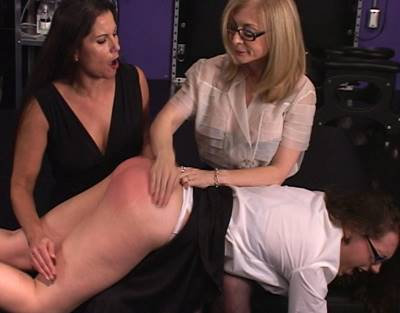 spanking, Nina Hartley, Sinn Sage, Chelsea Pfeiffer, erotic girl spanks girl spanking
